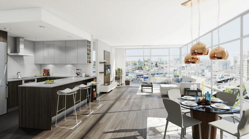Epic at West at 1788 Columbia Street, Vancouver, British Columbia. Image 1