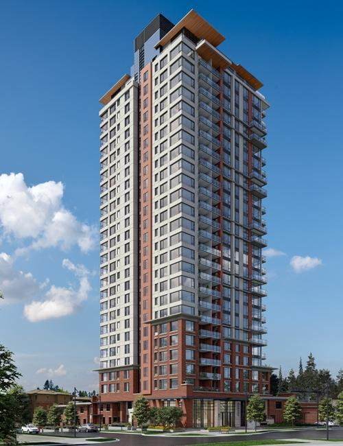 The Lloyd at 3096 Windsor Gate, Coquitlam, British Columbia. Image 1