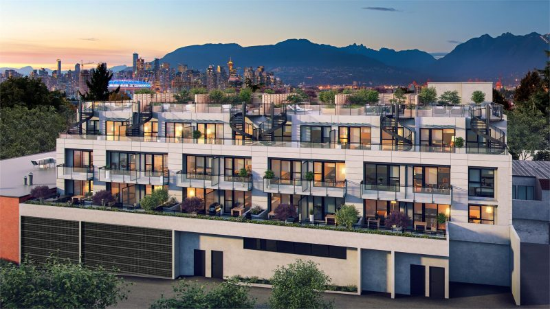 Midtown Modern at 630 East Broadway, Vancouver, British Columbia. Image 4