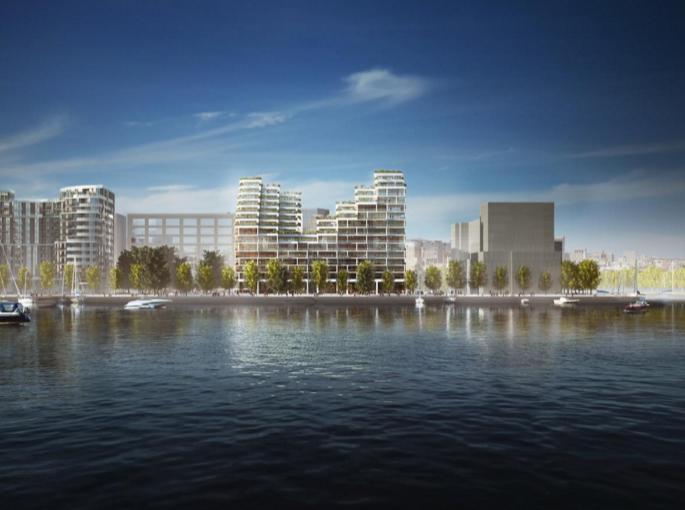 Aquabella Bayside at 261 Queens Quay East, Toronto, Ontario. Image 2