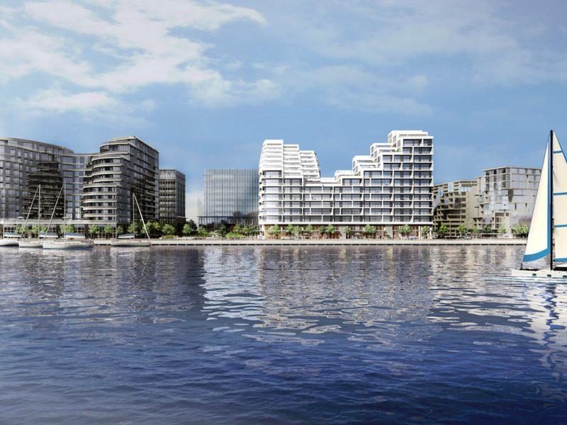 Aquabella Bayside at 261 Queens Quay East, Toronto, Ontario. Image 7