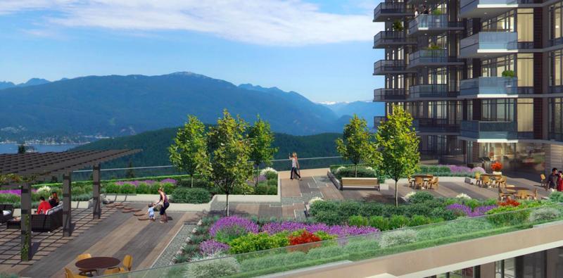 The Peak Burnaby at 8955 University High Street, Burnaby, British Columbia. Image 2