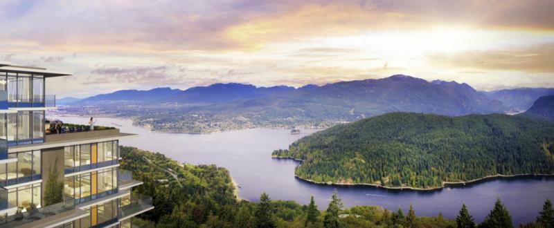 The Peak Burnaby at 8955 University High Street, Burnaby, British Columbia. Image 3