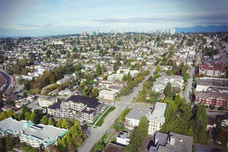 Westbourne Residences at Cariboo Street and Thirteenth Street, New Westminster, British Columbia. Image 2