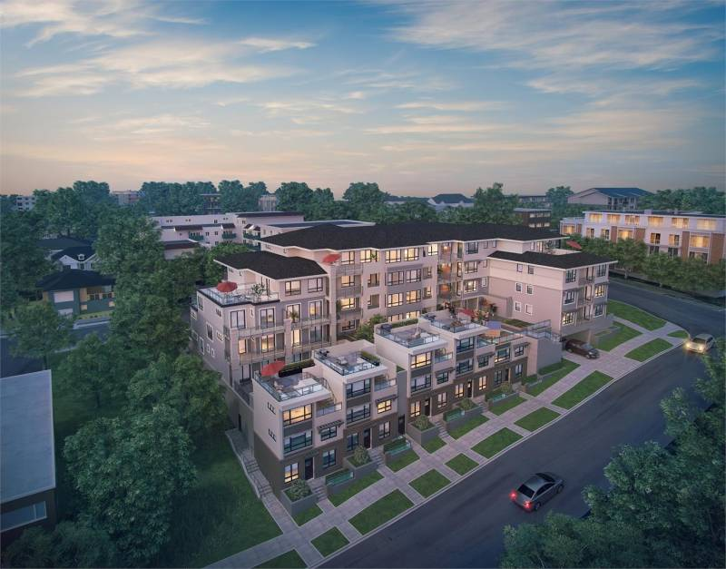 Westbourne Residences at Cariboo Street and Thirteenth Street, New Westminster, British Columbia. Image 3