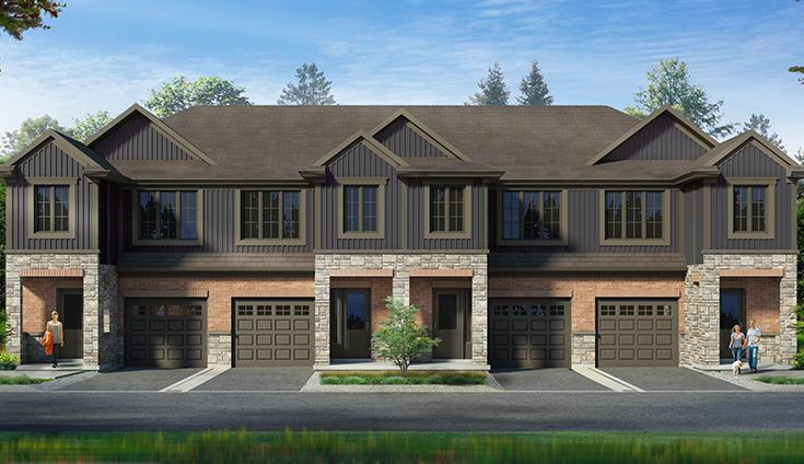 Inspire Townhomes at 365 Glancaster Road, Glanbrook, Ontario. Image 2