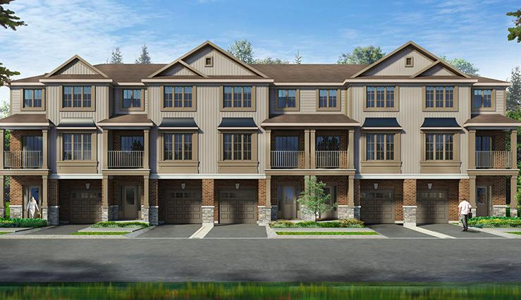 Inspire Townhomes at 365 Glancaster Road, Glanbrook, Ontario. Image 3