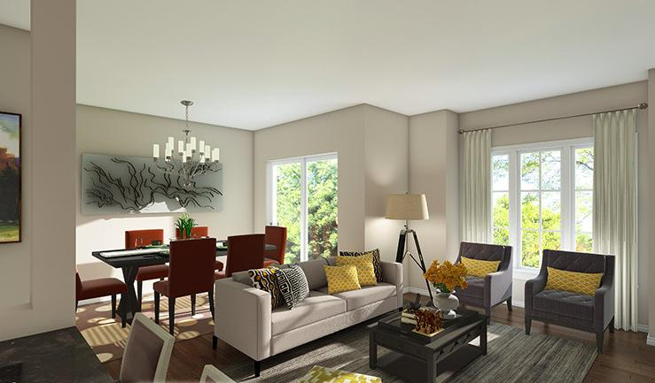 Inspire Townhomes at 365 Glancaster Road, Glanbrook, Ontario. Image 8