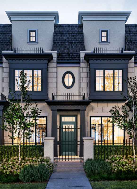 Maisonette at Granville Street and W 57th Avenue, Vancouver, British Columbia. Image 1