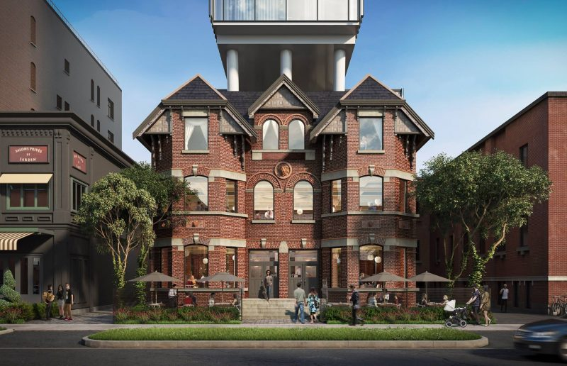 Wellington House at 422 Wellington Street West, Toronto, Ontario. Image 1