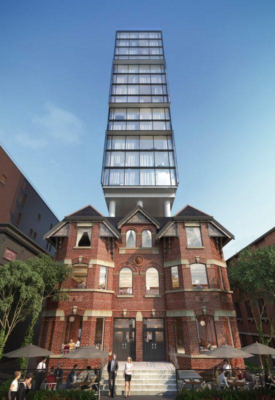 Wellington House at 422 Wellington Street West, Toronto, Ontario. Image 4