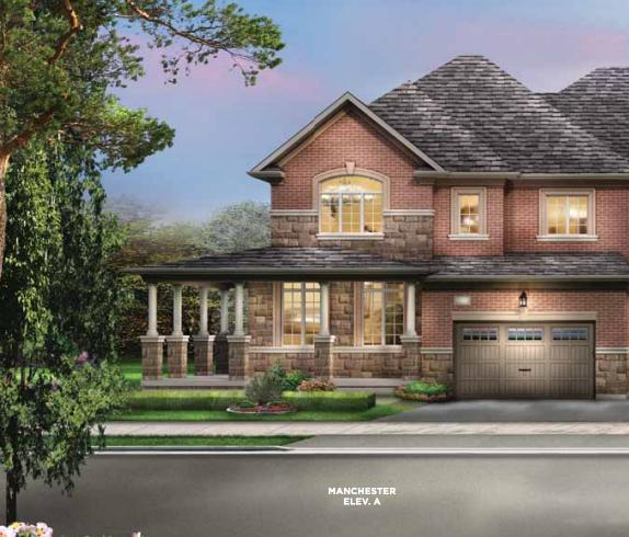 The Classics Townhomes at Chinguacousy Road and Wanless Drive, Brampton, Ontario. Image 1