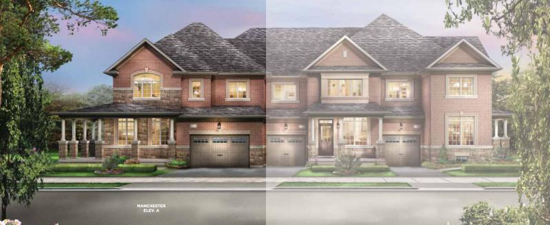 The Classics Townhomes at Chinguacousy Road and Wanless Drive, Brampton, Ontario. Image 2