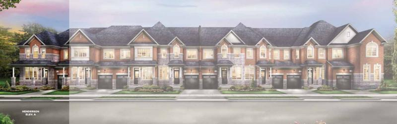 The Classics Townhomes at Chinguacousy Road and Wanless Drive, Brampton, Ontario. Image 3