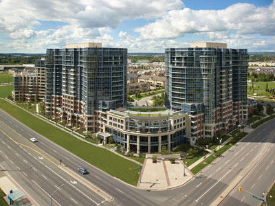 Circa at Highway 7 & Town Centre Blvd, Markham, Ontario. Image 6