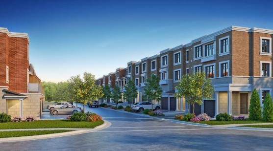 The Residences of 16th Avenue at 16th Avenue and Elizabeth Street, Markham, Ontario. Image 1