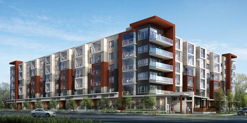 Condominiums of Cornell at 3150 Bur Oak Avenue, Markham, Ontario. Image 1