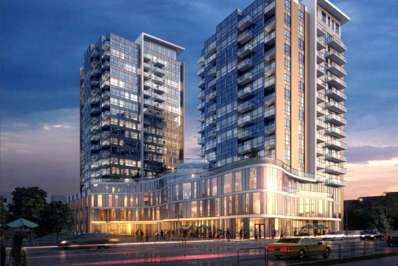 One Hundred Condos at 100 Victoria Street South, Kitchener, Ontario. Image 1