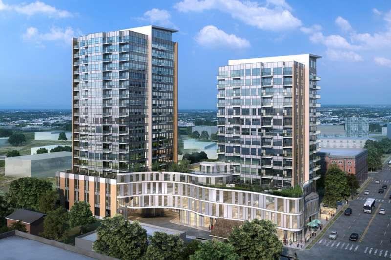 One Hundred Condos at 100 Victoria Street South, Kitchener, Ontario. Image 3