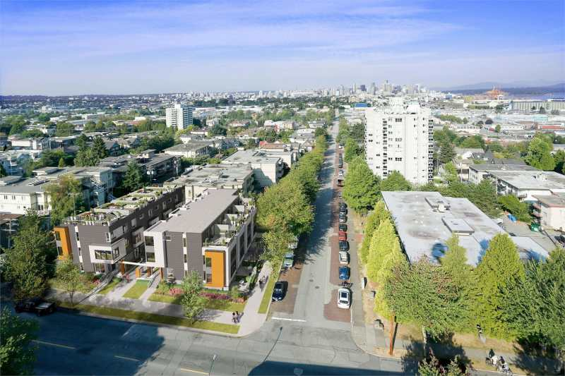 Frances at Victoria Drive and Frances Street, Vancouver, British Columbia. Image 4