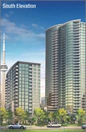 Infinity2 Condominiums at 51 Lower Simcoe Street, Toronto, Ontario. Image 1