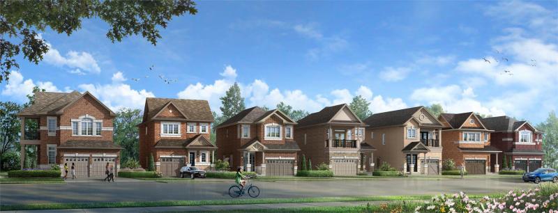 Hello Georgetown at Winston Churchill Boulevard, Brampton, Ontario. Image 1