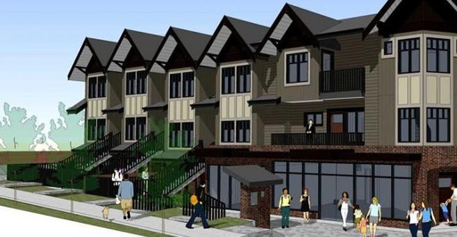Pacifico at 7174 Barnet Road, Burnaby, British Columbia. Image 1