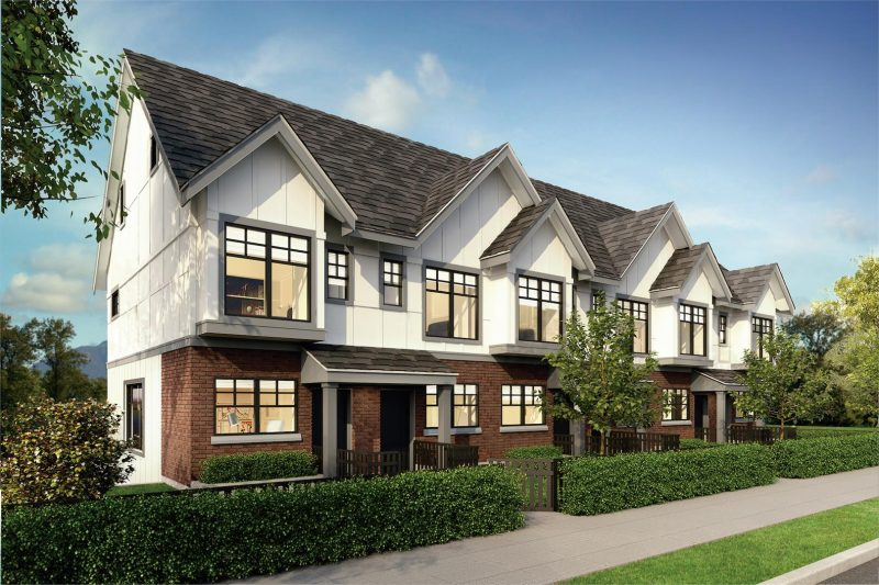 Savile Row at Canada Way and Sperling Avenue, Burnaby, British Columbia. Image 2