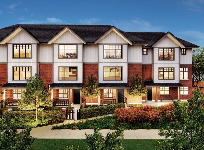 Savile Row at Canada Way and Sperling Avenue, Burnaby, British Columbia. Image 5