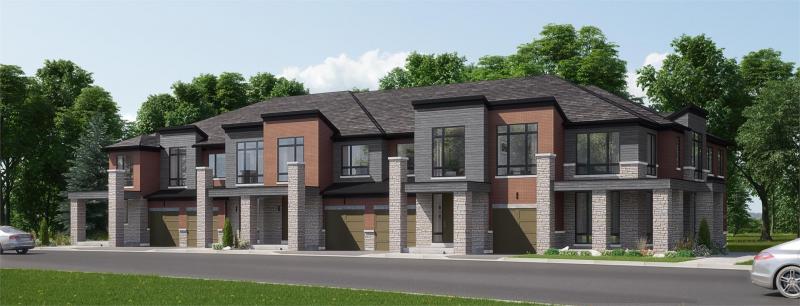 Aurora Glen- Phase III at Leslie Street and Wellington Street East, Aurora, Ontario. Image 2