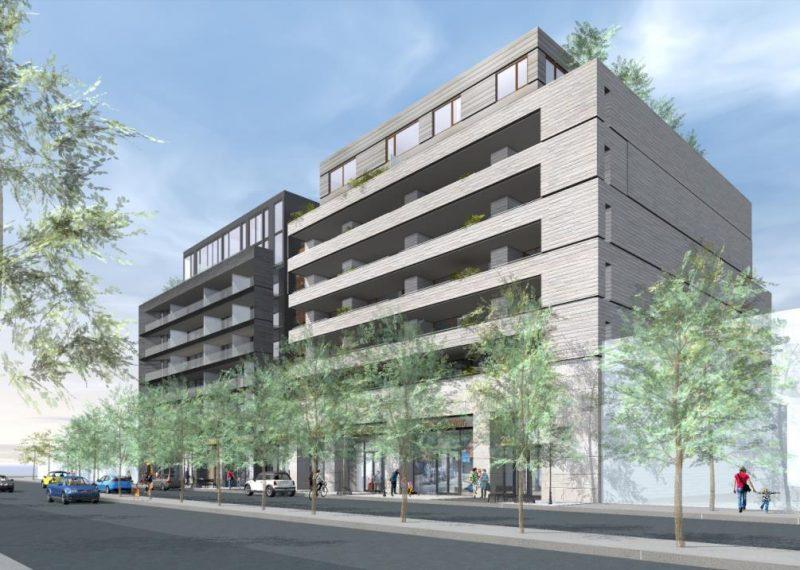 United Kingsway Condos at 2915 Bloor Street West, Toronto, Ontario. Image 1