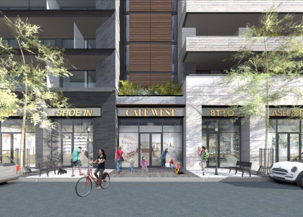 United Kingsway Condos at 2915 Bloor Street West, Toronto, Ontario. Image 2