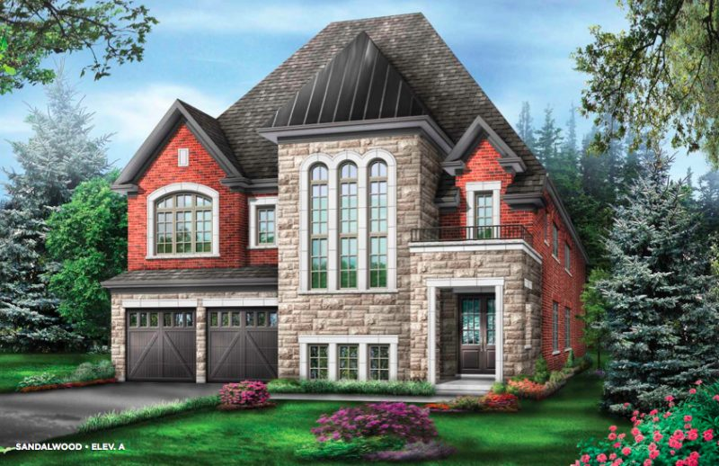 The Estates of Emerald Woods at Mississauga Road and Steeles Avenue, Brampton, Ontario. Image 1