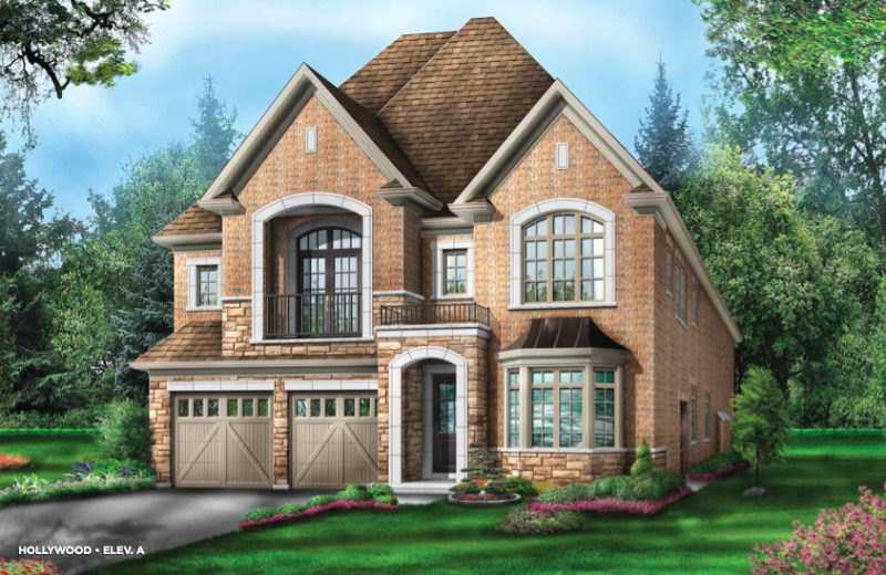 The Estates of Emerald Woods at Mississauga Road and Steeles Avenue, Brampton, Ontario. Image 2