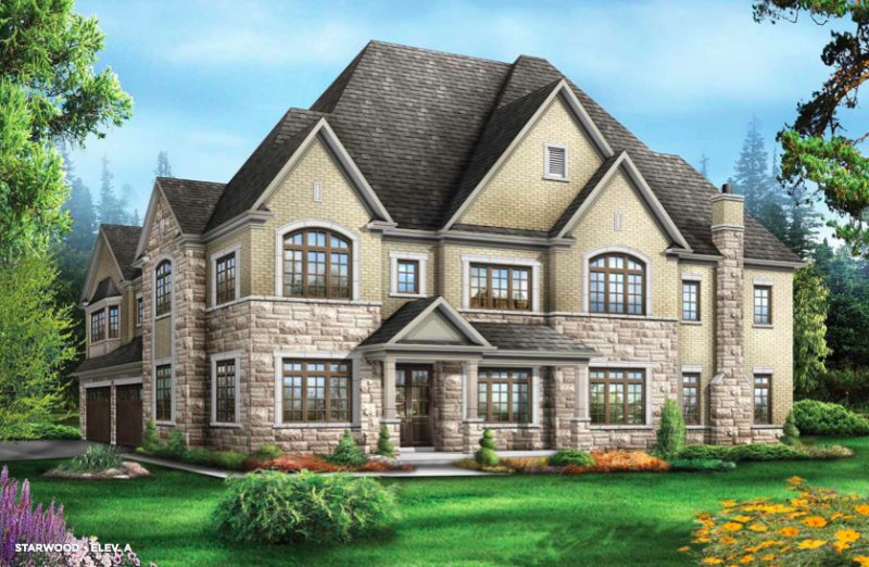 The Estates of Emerald Woods at Mississauga Road and Steeles Avenue, Brampton, Ontario. Image 3