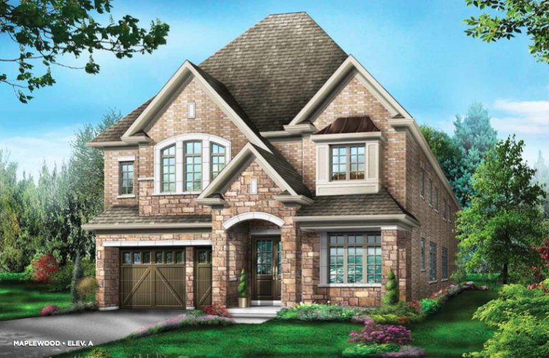 The Estates of Emerald Woods at Mississauga Road and Steeles Avenue, Brampton, Ontario. Image 4