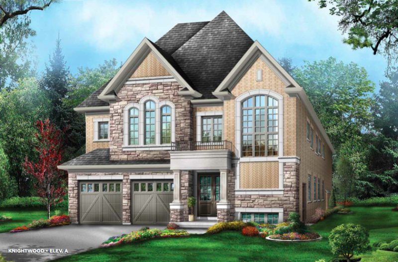 The Estates of Emerald Woods at Mississauga Road and Steeles Avenue, Brampton, Ontario. Image 5