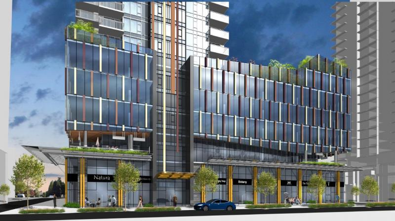 Sun Towers Metrotown at 6380 Silver Avenue, Burnaby, British Columbia. Image 1
