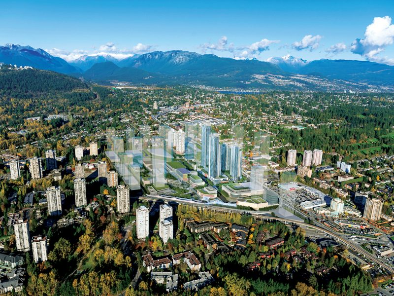 The City of Lougheed- First Neighbourhood- Tower One at 9850 Austin Road, Burnaby, British Columbia. Image 3