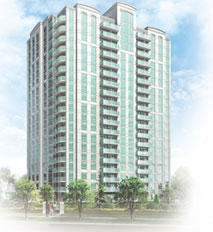 Nouvelle At Papillon Place at 2475 Eglinton Avenue West, Mississauga, Ontario. Image 1