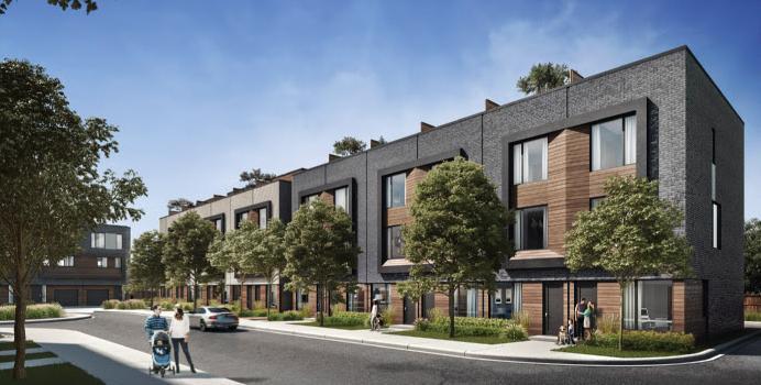 Terraces at Eglinton at Tisdale Avenue, Toronto, Ontario. Image 2