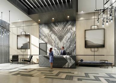 The West Condominiums at Stationwest at 101 Masonry Court, Burlington, Ontario. Image 2