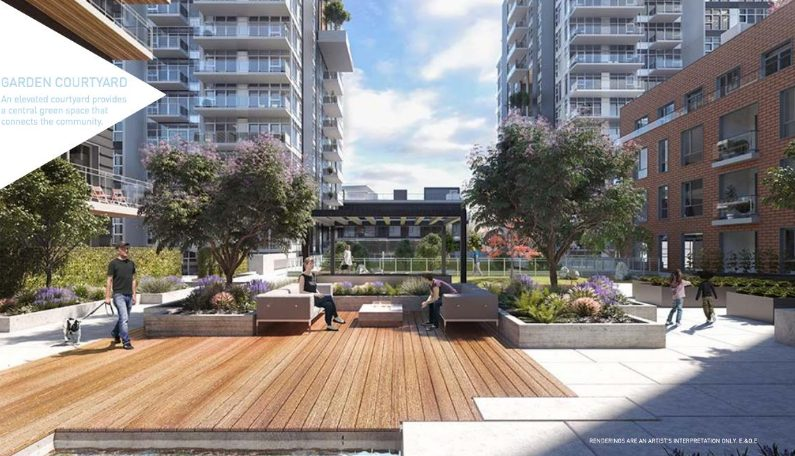Avalon Park at Sawmill Crescent, Vancouver, British Columbia. Image 1