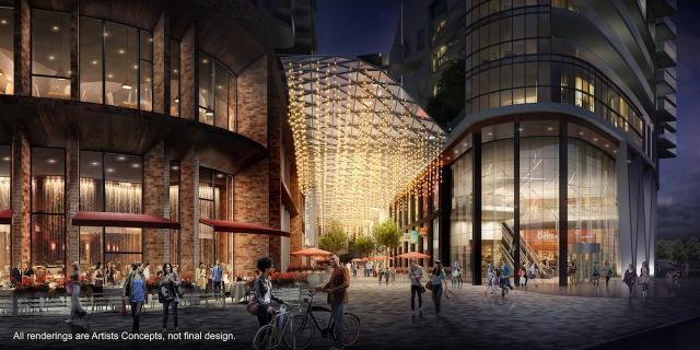 The Galleria Mall Condos at 1245 Dupont Street, Toronto, Ontario. Image 3