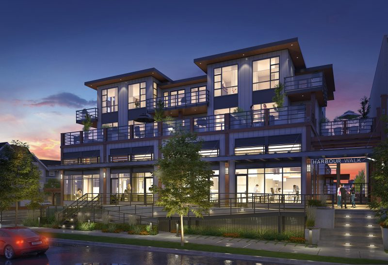 Harbour Walk at 13040 Number 2 Road, Richmond, British Columbia. Image 4