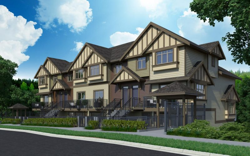 Parkview Townhomes at 4033 Dominion Street, Burnaby, British Columbia. Image 1