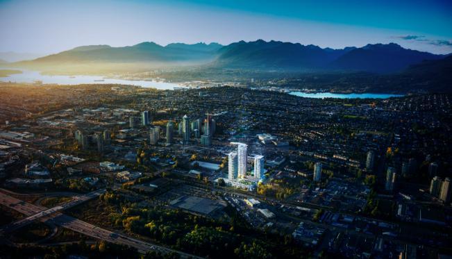 Lumina Brentwood at 2465 Beta Avenue, Burnaby, British Columbia. Image 1