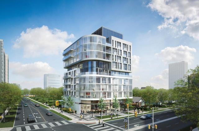 Ava Luxury Residence at 50 Finch Avenue East, Toronto, Ontario. Image 1