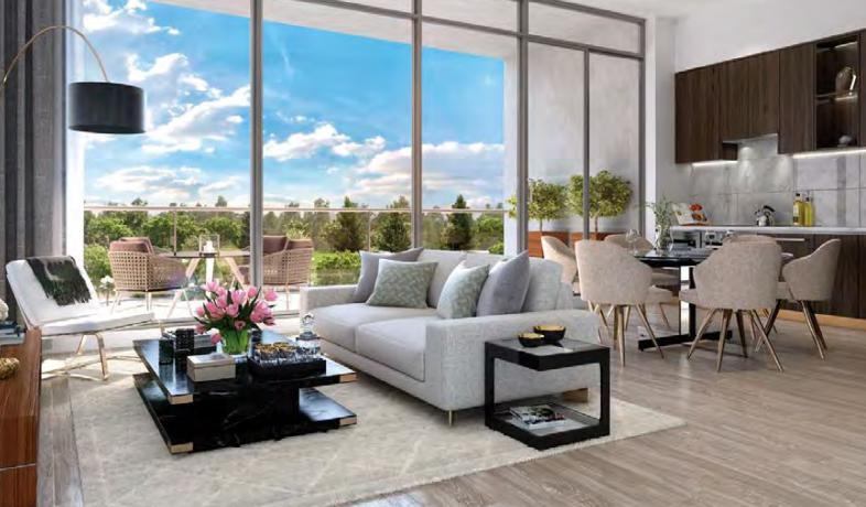 Seasons Condominiums and Villas at McMahon Drive, Toronto, Ontario. Image 1