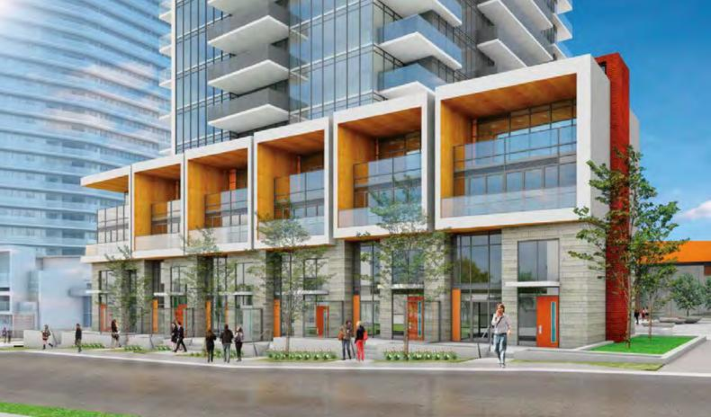 Seasons Condominiums and Villas at McMahon Drive, Toronto, Ontario. Image 5